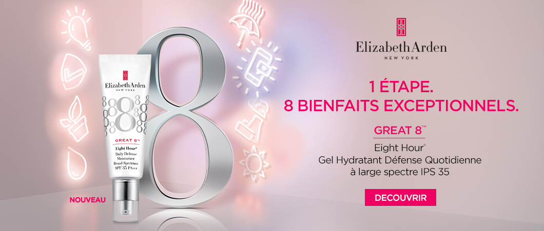 Great Eight  - Elizabeth Arden Belgique Soins